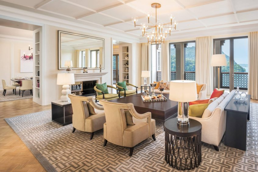 The St. Regis Langkawi Luxury Resort - Langkawi, Malaysia - Astor Suite Living Room