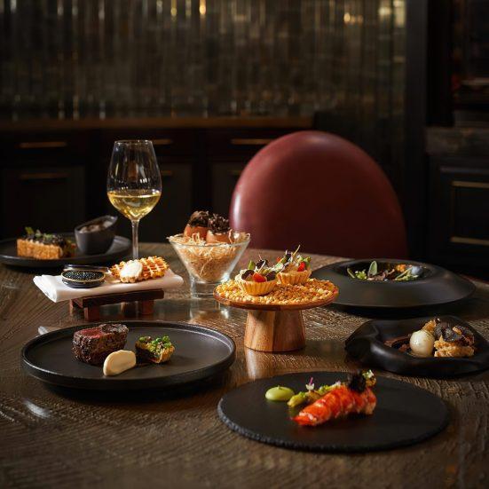 The St. Regis Kuala Lumpur Luxury Hotel - Kuala Lumpur, Malaysia - Superb Gourmet Cuisine Table Setting