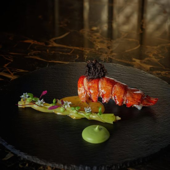 The St. Regis Kuala Lumpur Luxury Hotel - Kuala Lumpur, Malaysia - Superb Gourmet Cuisine Lobster Tail