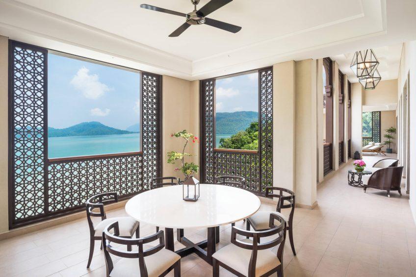 The St. Regis Langkawi Luxury Resort - Langkawi, Malaysia - Astor Suite Patio