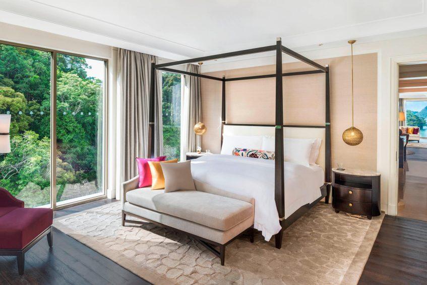 The St. Regis Langkawi Luxury Resort - Langkawi, Malaysia - Panoramic Suite King Bedroom