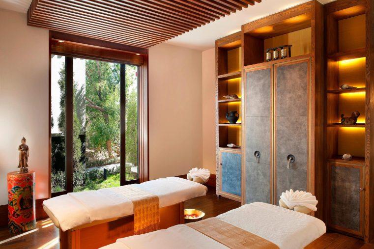 The St. Regis Lhasa Luxury Resort - Lhasa, Xizang, China - Iridium Spa Tables