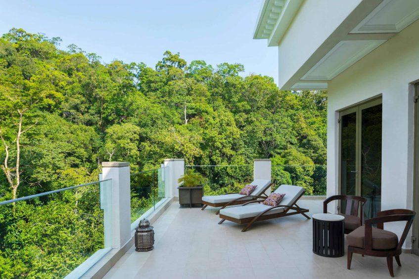 The St. Regis Langkawi Luxury Resort - Langkawi, Malaysia - Penthouse Suite Balcony