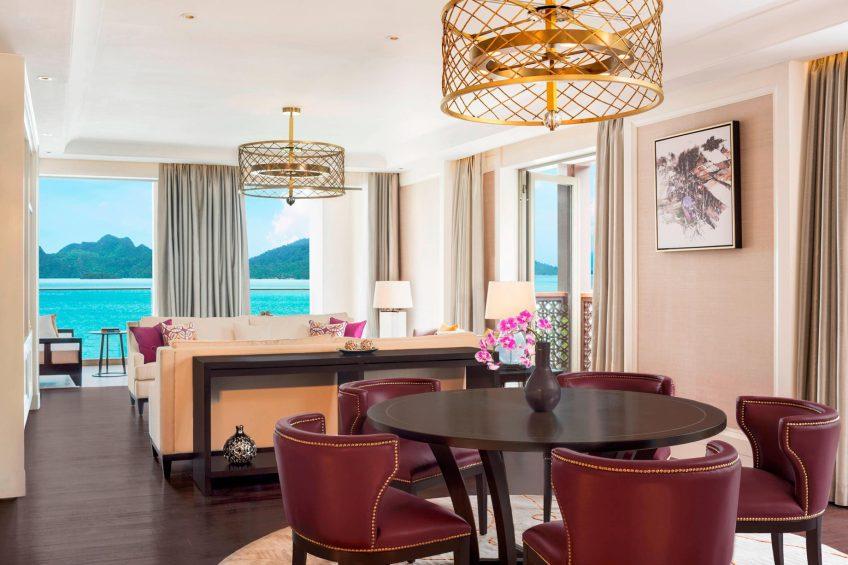 The St. Regis Langkawi Luxury Resort - Langkawi, Malaysia - Panoramic Suite Living Room