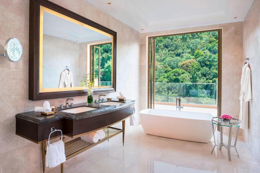 The St. Regis Langkawi Luxury Resort - Langkawi, Malaysia - Penthouse Suite Bathroom