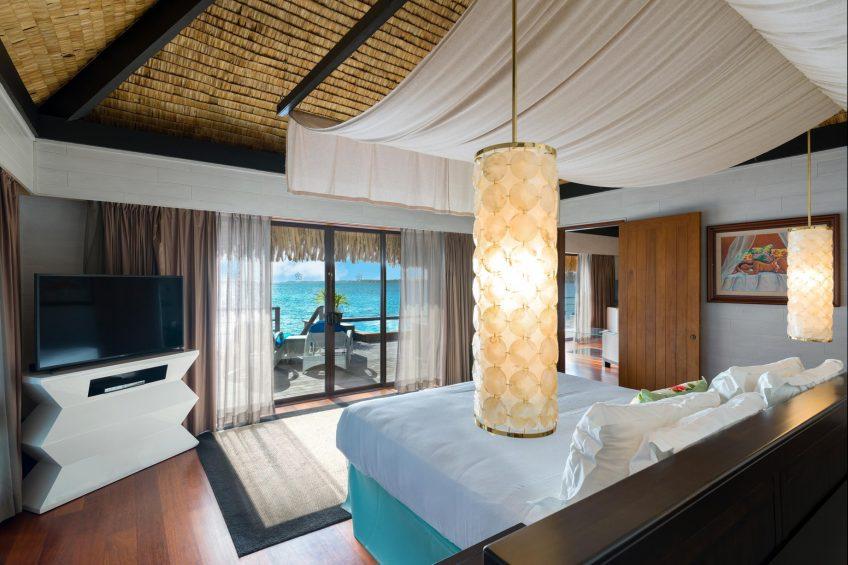 The St. Regis Bora Bora Resort - Bora Bora, French Polynesia - Two Bedrooms Overwater Royal Suite Villa Ocean View