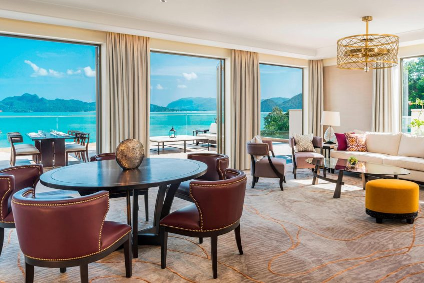 The St. Regis Langkawi Luxury Resort - Langkawi, Malaysia - Penthouse Suite Living Room