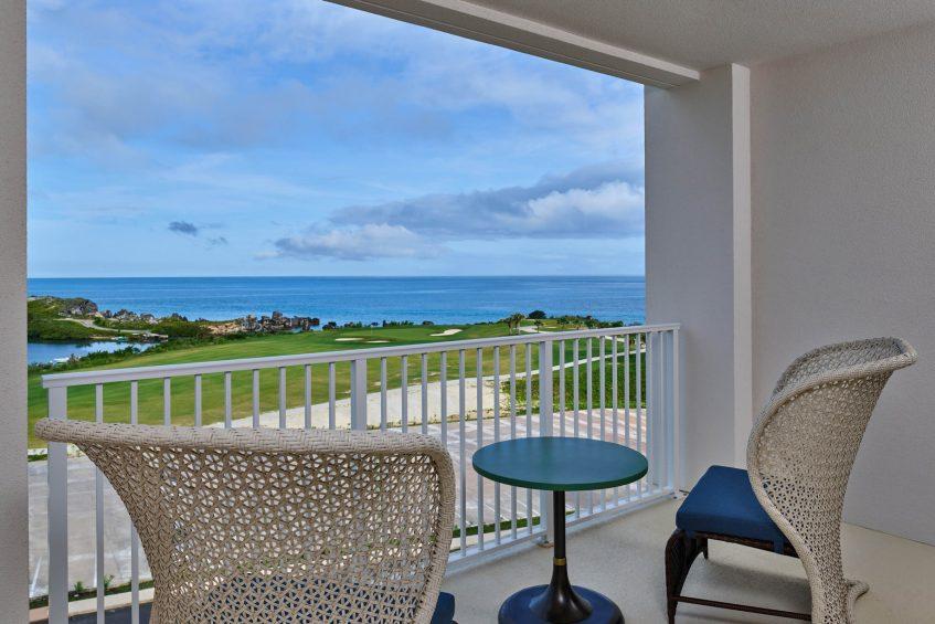 The St. Regis Bermuda Luxury Resort - St George's, Bermuda - Partial Ocean View King Balcony