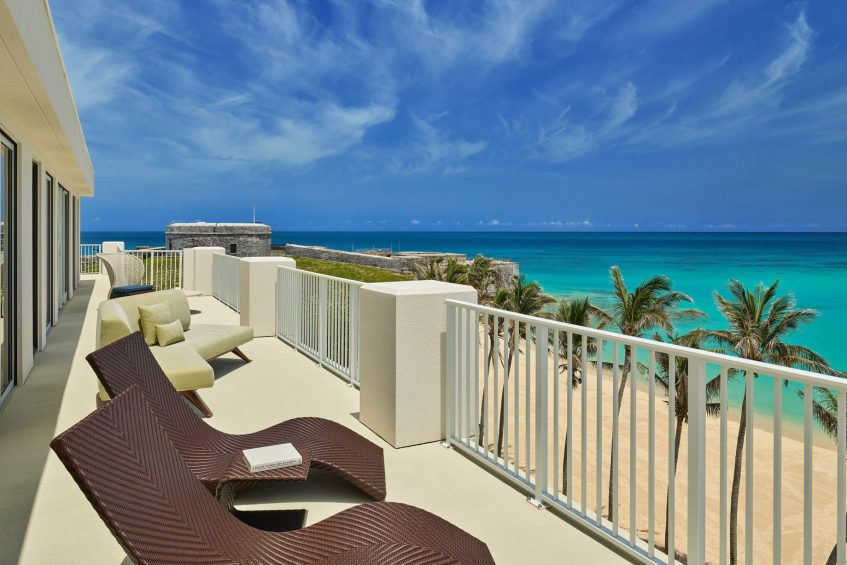 The St. Regis Bermuda Luxury Resort - St George's, Bermuda - St. Catherine's Suite Balcony