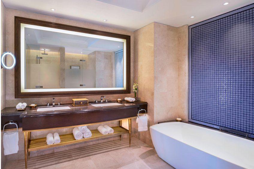 The St. Regis Langkawi Luxury Resort - Langkawi, Malaysia - Premier Andaman Sea Guest Bathroom
