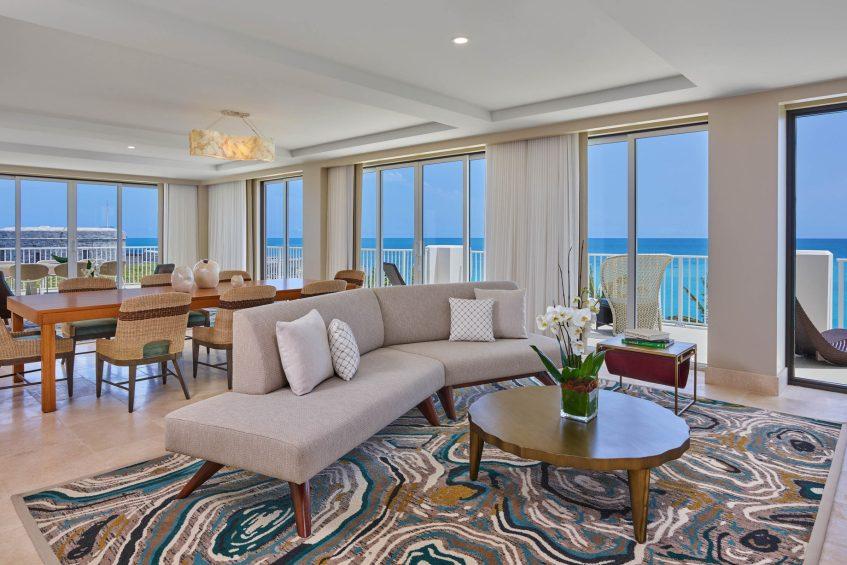 The St. Regis Bermuda Luxury Resort - St George's, Bermuda - St. Catherine's Suite Living Room View
