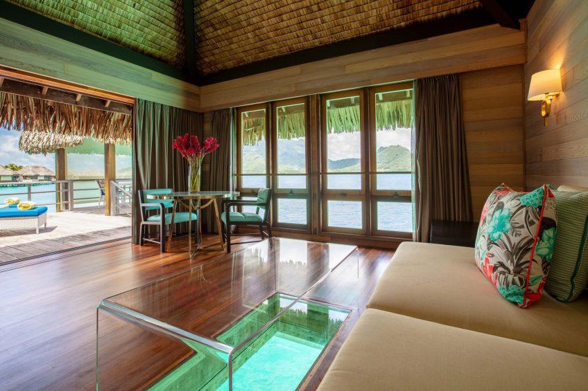 The St. Regis Bora Bora Resort - Bora Bora, French Polynesia - Villa Living Room