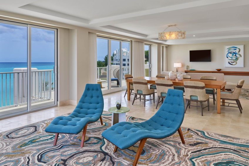 The St. Regis Bermuda Luxury Resort - St George's, Bermuda - St. Catherine's Suite Living Room