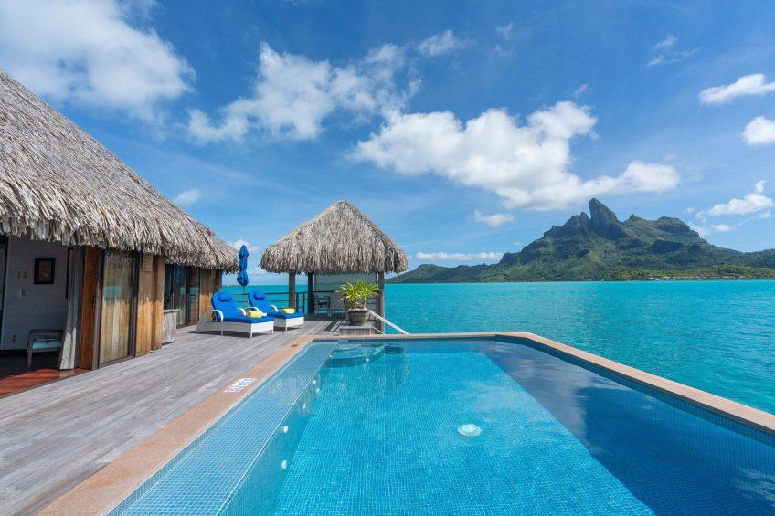 The St. Regis Bora Bora Resort - Bora Bora, French Polynesia - Two Bedrooms Overwater Royal Suite Villa View Swimming Pool