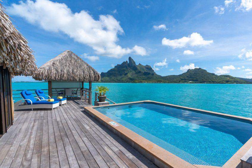 The St. Regis Bora Bora Resort - Bora Bora, French Polynesia - Two Bedrooms Overwater Royal Suite Villa Swimming Pool