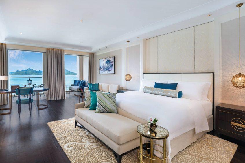 The St. Regis Langkawi Luxury Resort - Langkawi, Malaysia - Premier Andaman Sea King Guest Room
