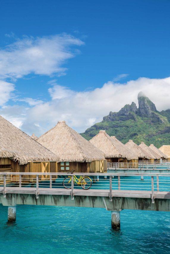 The St. Regis Bora Bora Resort - Bora Bora, French Polynesia - Overwater Villa Bicycle