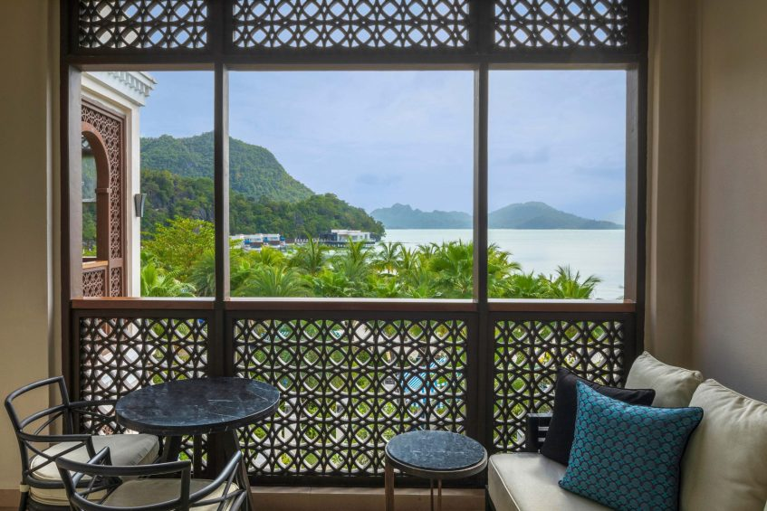 The St. Regis Langkawi Luxury Resort - Langkawi, Malaysia - Sea View Guest Room Balcony