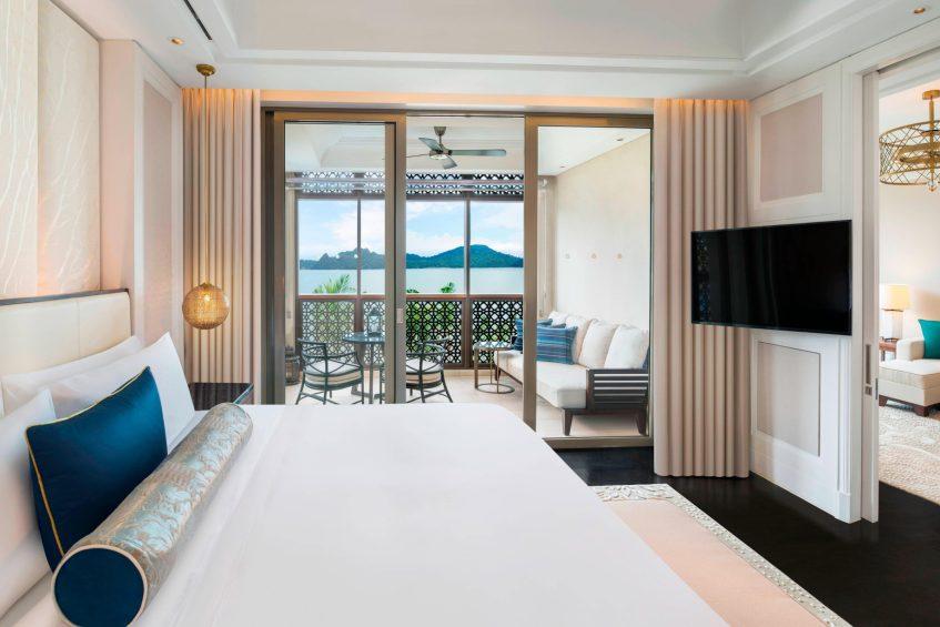 The St. Regis Langkawi Luxury Resort - Langkawi, Malaysia - St Regis Suite Bedroom
