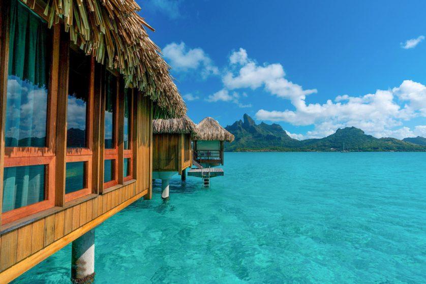 The St. Regis Bora Bora Resort - Bora Bora, French Polynesia - Deluxe Overwater Villa Exterior