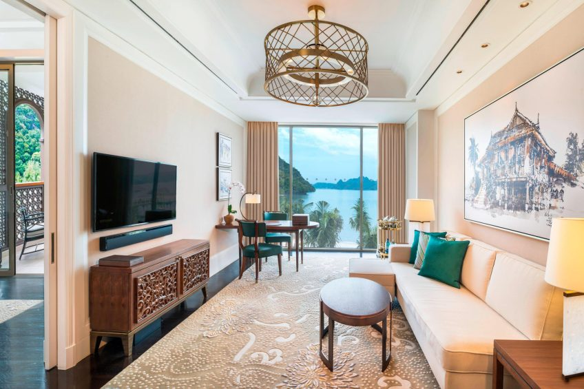The St. Regis Langkawi Luxury Resort - Langkawi, Malaysia - St Regis Suite Living Room