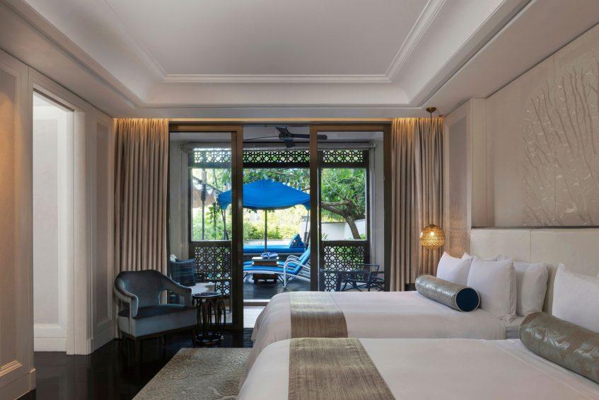 The St. Regis Langkawi Luxury Resort - Langkawi, Malaysia - St. Regis Double Suite Bedroom