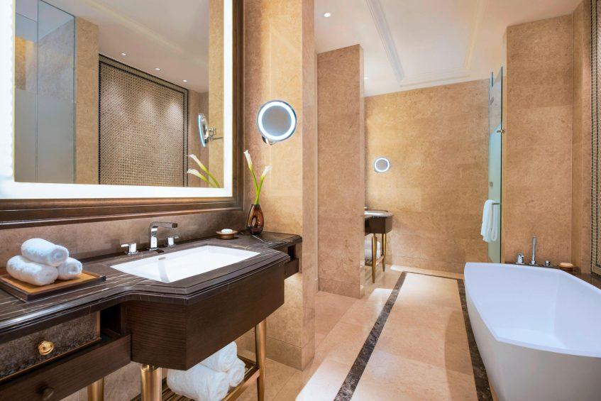 The St. Regis Langkawi Luxury Resort - Langkawi, Malaysia - St. Regis Pool Suite Bathroom