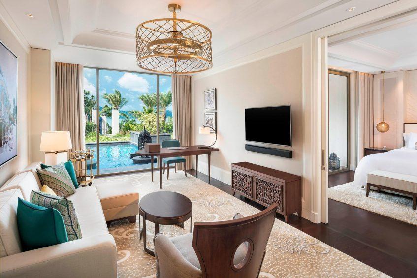 The St. Regis Langkawi Luxury Resort - Langkawi, Malaysia - St. Regis Pool Suite Living Room