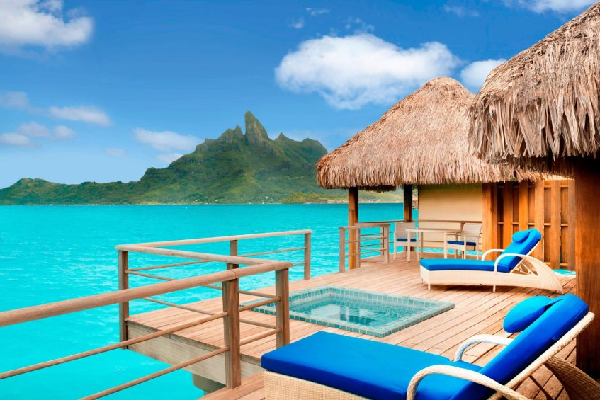 The St. Regis Bora Bora Resort - Bora Bora, French Polynesia - Premier Overwater Otemanu Villa with Whirlpool