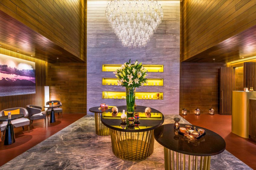 The St. Regis Langkawi Luxury Resort - Langkawi, Malaysia - Iridium Spa Reception