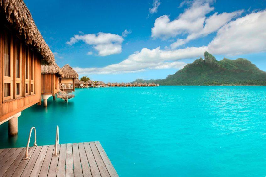 The St. Regis Bora Bora Resort - Bora Bora, French Polynesia - Overwater Villa Ocean View