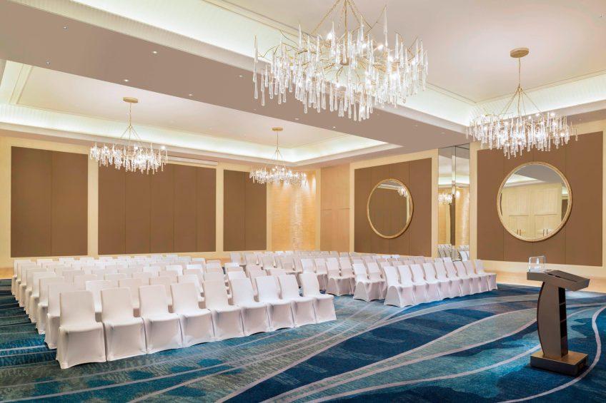 The St. Regis Langkawi Luxury Resort - Langkawi, Malaysia - Ballroom Theater Style Setup