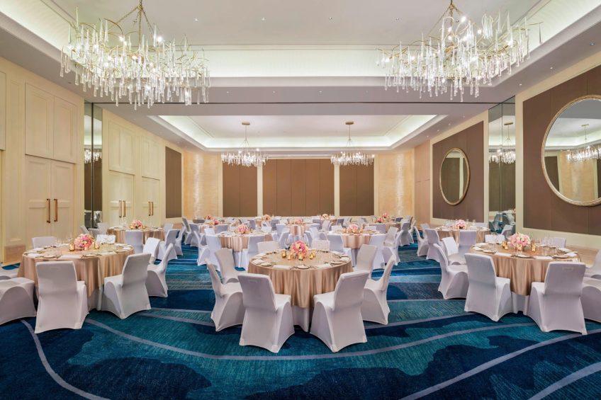 The St. Regis Langkawi Luxury Resort - Langkawi, Malaysia - Ballroom Wedding Dinner