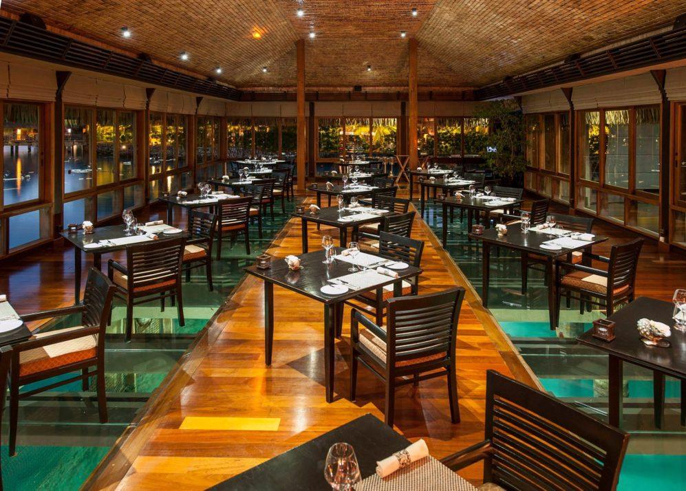 The St. Regis Bora Bora Resort - Bora Bora, French Polynesia - Signature Lagoon Restaurant Interior