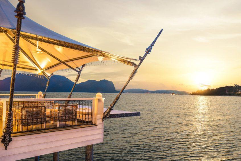 The St. Regis Langkawi Luxury Resort - Langkawi, Malaysia - Kayu puti Sunset Deck