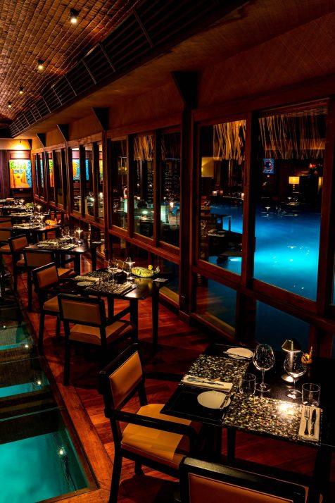 The St. Regis Bora Bora Resort - Bora Bora, French Polynesia - Lagoon Overwater Restaurant by Jean Georges