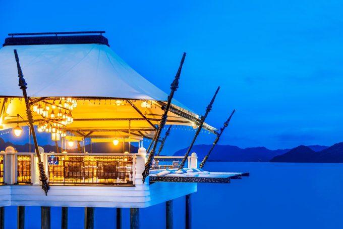 The St. Regis Langkawi Luxury Resort - Langkawi, Malaysia - Kayu Puti Exterior Night