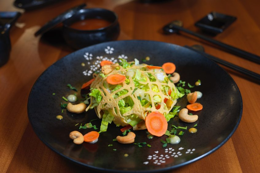 The St. Regis Bora Bora Resort - Bora Bora, French Polynesia - Bam Boo Restaurant Asian Woks Dish
