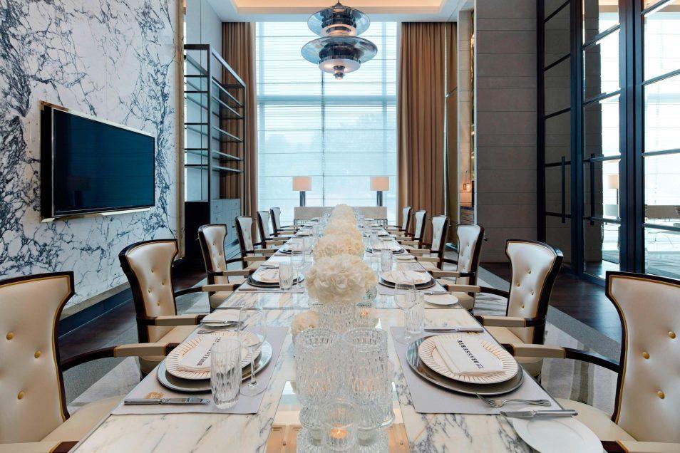 The St. Regis Kuala Lumpur Luxury Hotel - Kuala Lumpur, Malaysia - The Brasserie Private Dining Room