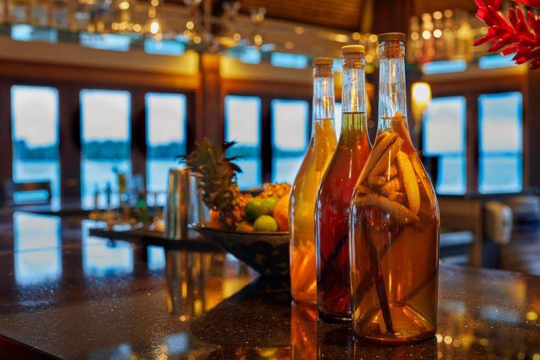 The St. Regis Bora Bora Resort - Bora Bora, French Polynesia - Lagoon Restaurant by Jean Georges Bar