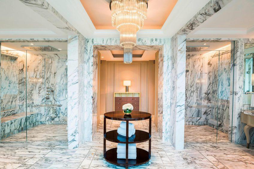 The St. Regis Kuala Lumpur Luxury Hotel - Kuala Lumpur, Malaysia - John Jacob Astor Suite Master Bathroom