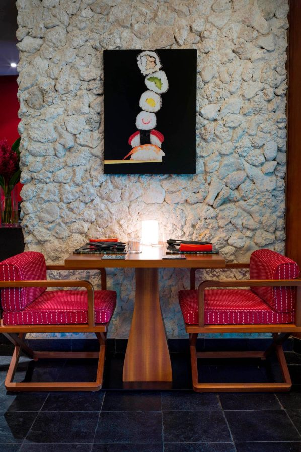 The St. Regis Bora Bora Resort - Bora Bora, French Polynesia - Bam Boo Restaurant Private Table