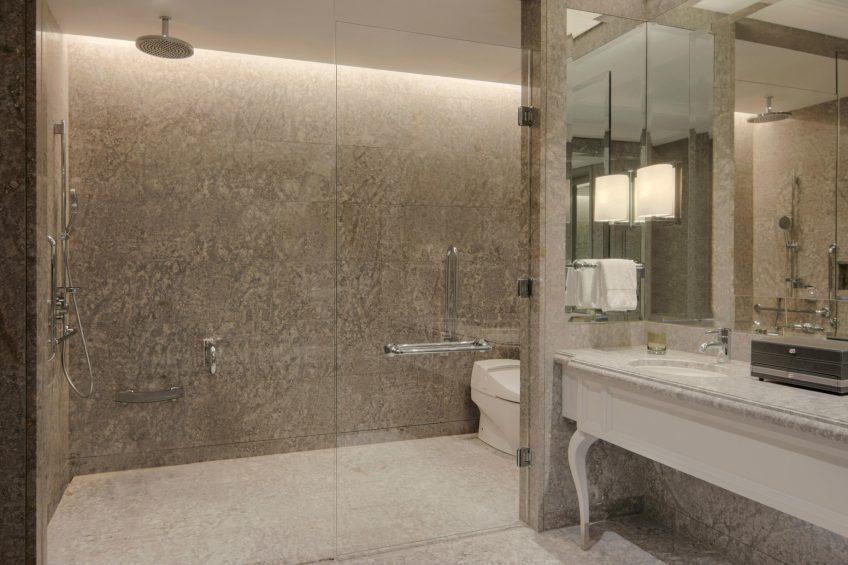 The St. Regis Kuala Lumpur Luxury Hotel - Kuala Lumpur, Malaysia - Deluxe Guest Bathroom Shower