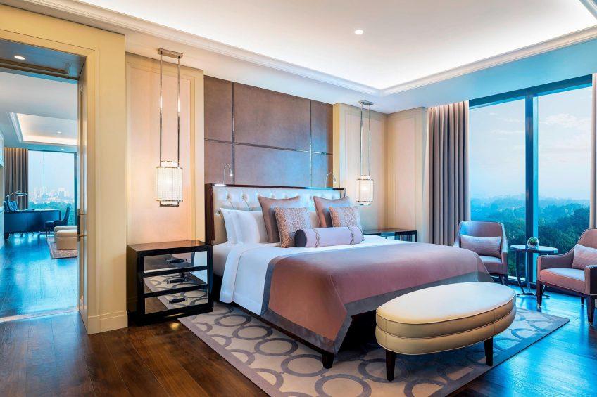 The St. Regis Kuala Lumpur Luxury Hotel - Kuala Lumpur, Malaysia - John Jacob Astor Suite Bedroom