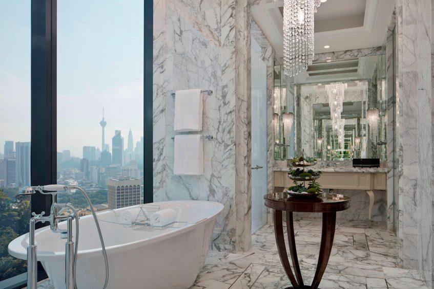 The St. Regis Kuala Lumpur Luxury Hotel - Kuala Lumpur, Malaysia - Royal Suite Bathroom