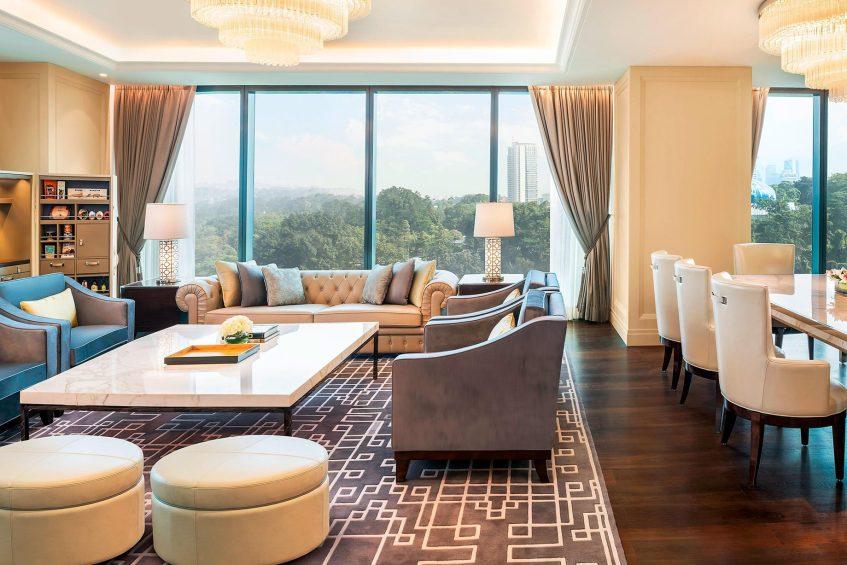 The St. Regis Kuala Lumpur Luxury Hotel - Kuala Lumpur, Malaysia - John Jacob Astor Suite