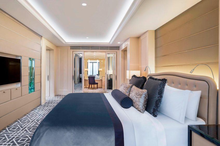 The St. Regis Kuala Lumpur Luxury Hotel - Kuala Lumpur, Malaysia - St. Regis Suite Bedroom and Wardrobe