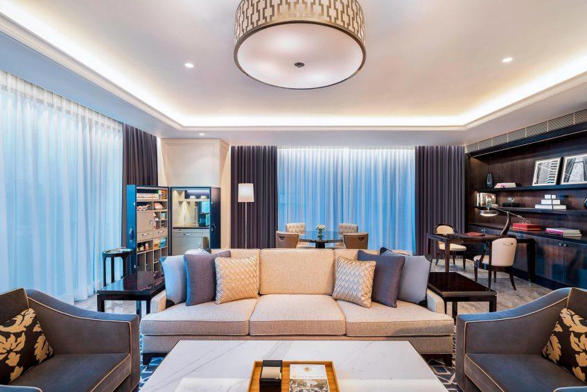 The St. Regis Kuala Lumpur Luxury Hotel - Kuala Lumpur, Malaysia - St. Regis Suite Living Room