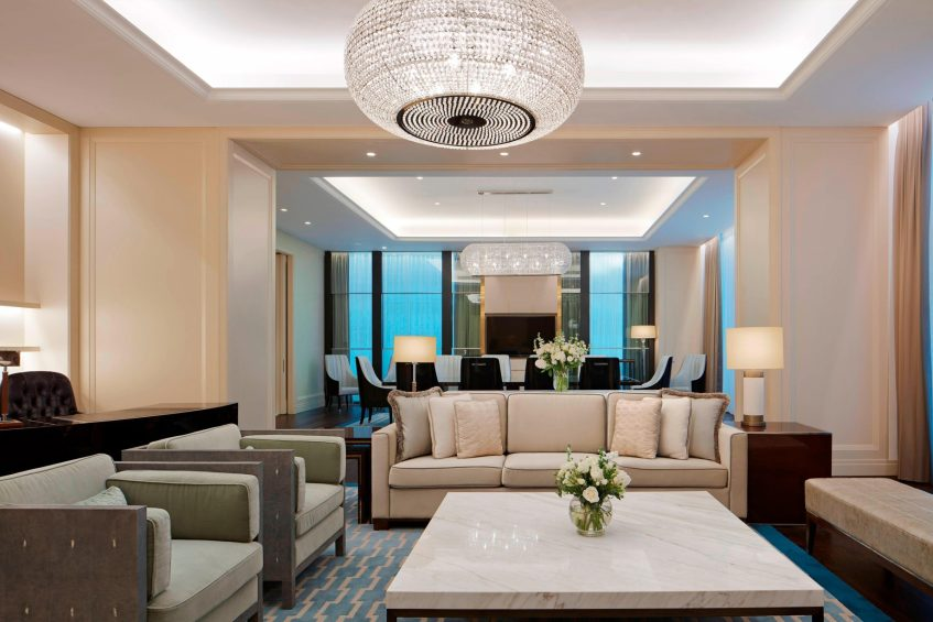 The St. Regis Kuala Lumpur Luxury Hotel - Kuala Lumpur, Malaysia - Presidential Suite Living Room