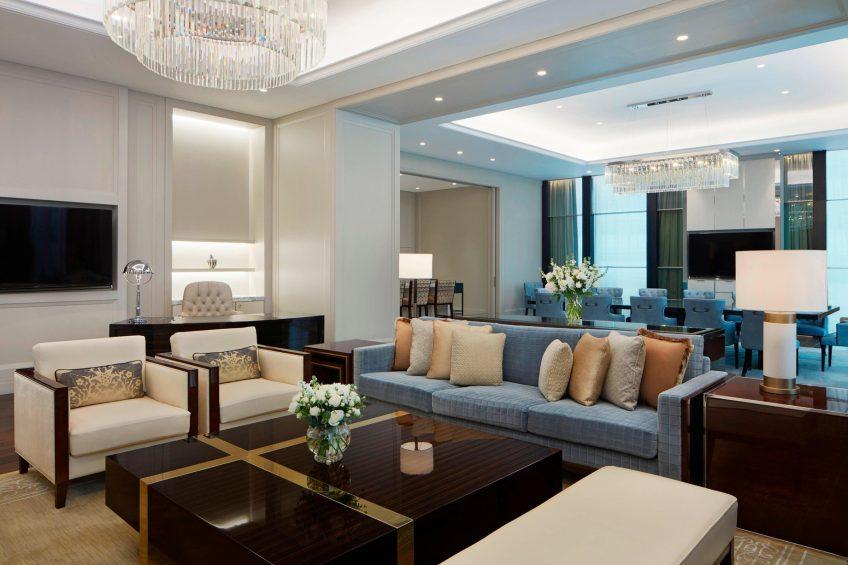 The St. Regis Kuala Lumpur Luxury Hotel - Kuala Lumpur, Malaysia - Royal Suite Living Area